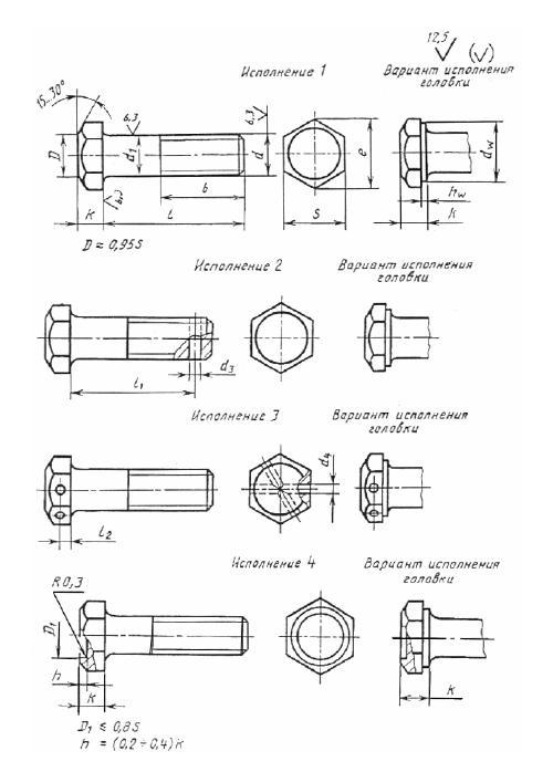 Болт М12х40 оц.