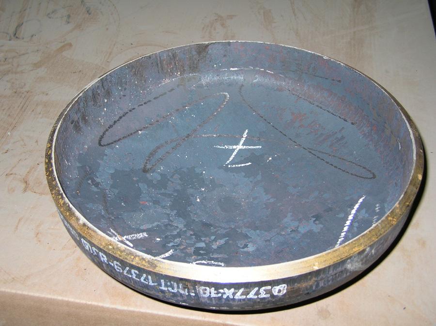 Заглушка эллиптическая ТУ 1468-010-39918642-2003